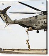 Air Force Pararescuemen Conduct Acrylic Print
