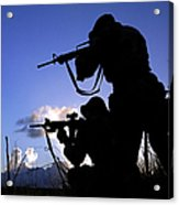 Air Force Security Forces Personnel Acrylic Print