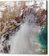 Air Pollution Over China Acrylic Print