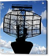 Air Traffic Control Radar Acrylic Print by Victor De Schwanberg