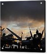 Aircraft Carrier Acrylic Print by Ahp