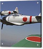 Aircraft From The Tora, Tora, Tora Acrylic Print