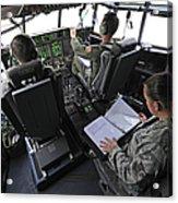 Aircrew Perform Preflight Checklists Acrylic Print