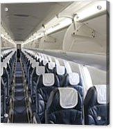 Airplane Seating Acrylic Print