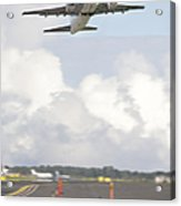 Airplane Taking Off Acrylic Print