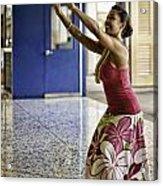 Airport Aloha Acrylic Print