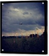 Airport Approach Acrylic Print