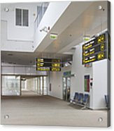 Airport Concourse Acrylic Print