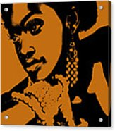 Aisha Acrylic Print by Naxart Studio