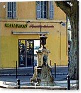 Aix En Provence Fountain Acrylic Print