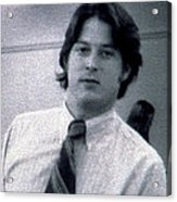 Al Gore At 22 Years Old Acrylic Print by Everett
