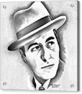 Al Pacino As Michael Corleone Of The Godfather Acrylic Print