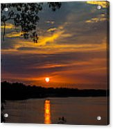 Alabama Sunset Acrylic Print