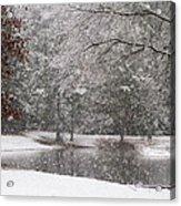 Alabama Winter Wonderland Acrylic Print