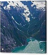 Alaska Coastal Acrylic Print by Mike Reid