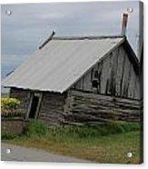 Alaska Homestead Acrylic Print