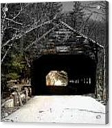 Albany Covered Bridge  Acrylic Print