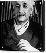 Albert Einstein, German-american Acrylic Print
