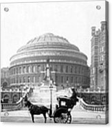 Albert Hall In London - England - C 1904 Acrylic Print