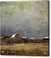 Alberta Farm Land Acrylic Print