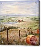 Alberta Foothills Acrylic Print