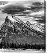 Alberta Rockies Acrylic Print