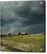 Alberta Stormy Weather Acrylic Print