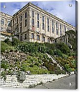 Alcatraz Cell House West Facade Acrylic Print