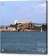 Alcatraz Island In San Francisco California . South Side . 7d14288 Acrylic Print