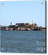 Alcatraz Island In San Francisco California . West Side . 7d14007 Acrylic Print by Wingsdomain Art and Photography