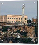 Alcatraz Island Lighthouse - San Francisco California  Acrylic Print