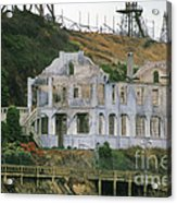 Alcatraz Skeleton Acrylic Print