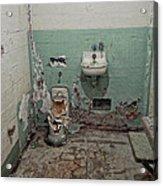 Alcatraz Vandalized Cell Acrylic Print