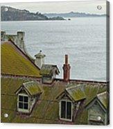 Alcatraz View Acrylic Print by Suzanne Gaff