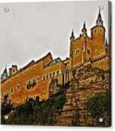 Alcazar De Segovia - Spain Acrylic Print