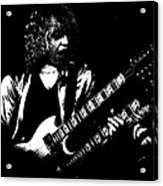 Doubleneck Sketch In Spokane 1978 Acrylic Print