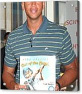 Alex Rodriguez At In-store Appearance Acrylic Print by Everett