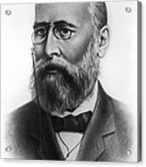 Alexander Butlerov, Russian Chemist Acrylic Print