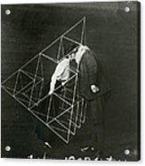 Alexander Graham Bell And Mabel Kissing Acrylic Print