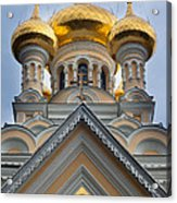 Alexander Nevski Church Acrylic Print