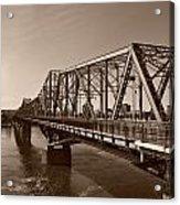 Alexandria Bridge Acrylic Print