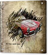 Alfa Romeo Acrylic Print