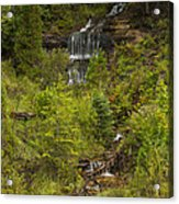 Alger Falls 1 Acrylic Print