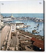 Algiers - Algeria - Harbor And Admiralty Acrylic Print