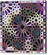 Alhambra Pattern Acrylic Print