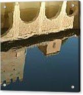 Alhambra Pool Acrylic Print