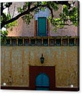 Alhambra Water Tower Doors Acrylic Print