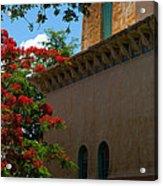 Alhambra Water Tower Windows And Door Acrylic Print