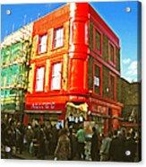 Alice's - London Acrylic Print