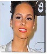 Alicia Keys At Arrivals For Keep Acrylic Print by Everett
